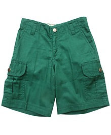 Campana Green 6 Pockets Cargo Shorts