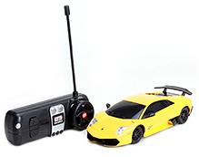 Maisto Yellow Murcielago LP 670 4 SV Radio Control Car