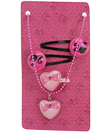 Barbie Kids Jewelry - Includes Two Snap Clip