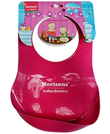 Morisons Baby Dreams Crumb Catcher Bib - Pink