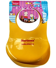 Morisons Baby Dreams Crumb Catcher Bib - Yellow