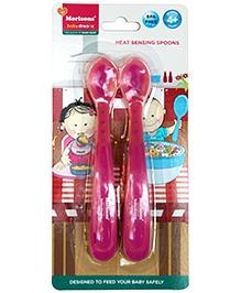 Morisons Baby Dreams Heat Sensing Spoons Pink - Pack Of 2 - 4 Months +