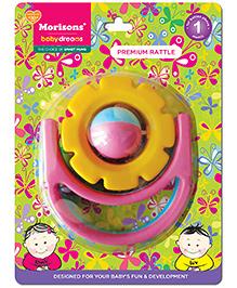 Morisons Baby Dreams Premium Rattle - Flower - 1 Months +
