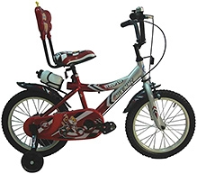 HLX NMC Bicycle Rapid MTB Red - 16 Inch