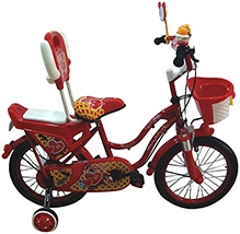 HLX NMC Bicycle PC Red - 16 Inch