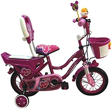 HLX NMC Bicycle PC Pink - 14 Inch