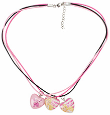 Barbie Necklace Pink