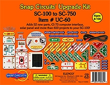 Snap Circuits Upgrade Kit SC 100 To SC 750