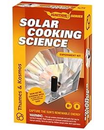 Thames & Kosmos Solar Cooking Science Experiment Kit