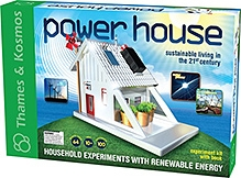 Thames & Kosmos Power House Experiment Kit With Book