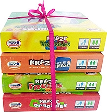 Krazy Combo Games Set 2 - Pack Of 4