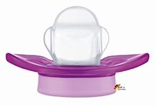 Nip Miss Denti Soothers Purple - Size 1 No Teeth