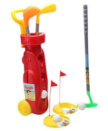 Funfactory Chhota Bheem Golf Set Trolley