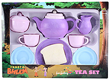 Fun Factory Chota Bheem Tea Set - Purple and Pink
