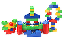 Funfactory Building Sets And Blocks - 72 Pieces