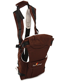 1st Step Baby Carrier 5 in 1 - Brown