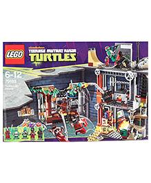 Lego Turtle Lair Attack