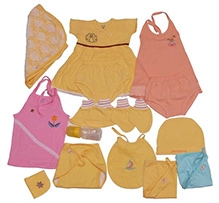 JO Kidswear Baby Gift Set - Yellow