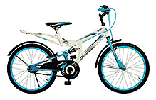 SK Bikes Woody Shox Bicycle - 20 Inch
