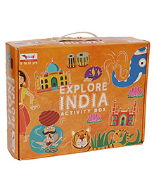 Traveller Kids Atlas Goes To India Box