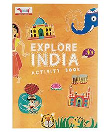 Traveller Kids Atlas India Book