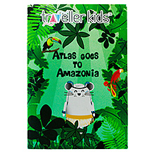 Traveller Kids Atlas Goes to Amazonia Book On South American Countries