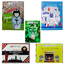 Traveller Kids Around the World Book Set - Pack Of 5