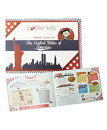 Traveller Kids Atlas Goes To USA Book