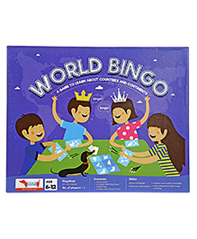 Traveller Kids World Bingo Game