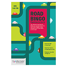 Traveller Kids Road Bingo Game