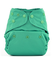 Bumberry Cloth Diaper Cover With Insert Sea Green