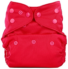Bumberry Cloth Diaper Cover With Insert Bright Pink