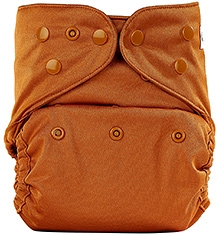 Bumberry Cloth Diaper Cover With Insert Light Brown