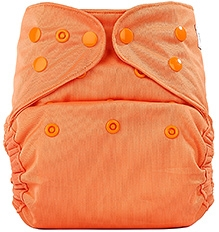 Bumberry Cloth Diaper Cover With Insert Light Orange