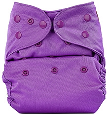 Bumberry Cloth Diaper Cover With Insert Light Purple