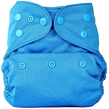 Bumberry Cloth Diaper Cover With Insert Light Blue