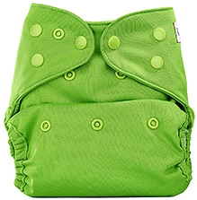 Bumberry Cloth Diaper Cover With Insert Light Green