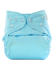 Bumberry Cloth Diaper Cover With Insert Sky Blue