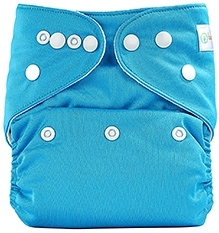 Bumberry Pocket Cloth Diaper With Insert Sky Blue