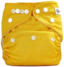 Bumberry Pocket Cloth Diaper With Insert Yellow