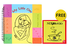 Blue Orange Publications Baby Record Book