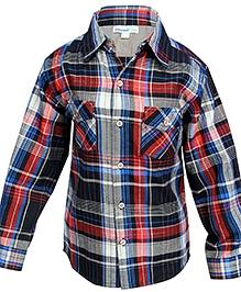 Shopper Tree Multi Coloured Full Sleeves Checked Shirt