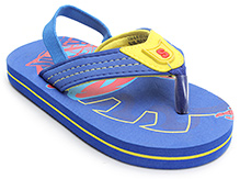 Spider Man Blue Flip Flop With Back Strap