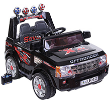 Fab N Funky Battery Operated Ride On Racing X 2 - Black