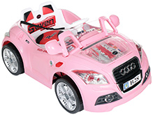 Fab N Funky Battery Operated Car RC Ride On - Pink