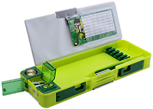 Ben 10 Omniverse Multi Functional Pencil Box Green Box