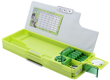 Ben 10 Omniverse Multi Functional Pencil Box Green