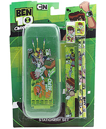 Ben 10 Omniverse Stationary Set Green