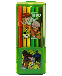 Ben 10 Omniverse Colour Pen Green - 12 Piece