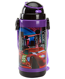 Disney Pixar Cars Sipper Bottle With Detachable Strap Black 700 ml